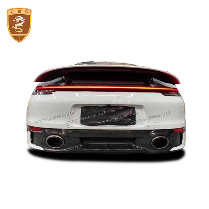 PORSCHE 911-992 sd carbon fiber rear lip
