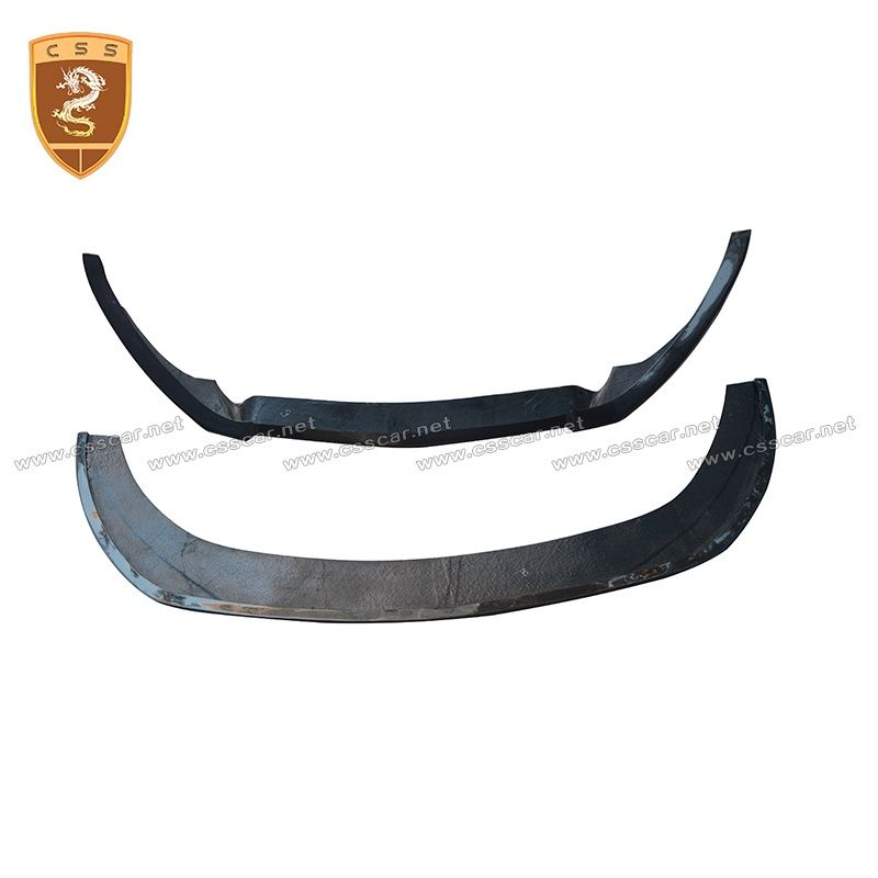 Ford Mustang double-deck carbon fiber front lip