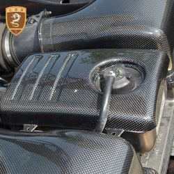 Ferrari F430 engine lid latch cover