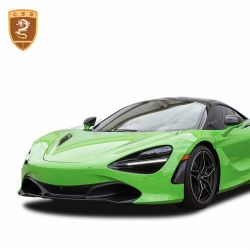 McLaren 720s carbon front bumper side air scoop vent