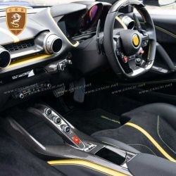 Ferrari 812 carbon fiber OEM center control