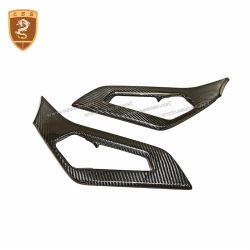 Lamborghini Aventador LP700 carbon fiber Inner Door Handle Pull Trim Set