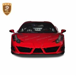 Ferrari 458 MANSORY carbon body kit