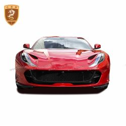Ferrari 812 carbon fiber OEM headlight cover