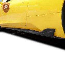 Ferrari 458 side skirts wrap angle
