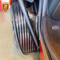 McLaren MP4-12C carbon fiber inside fenders lining