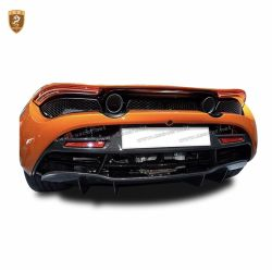 McLaren 720S OEM carbon fiber up rear lip