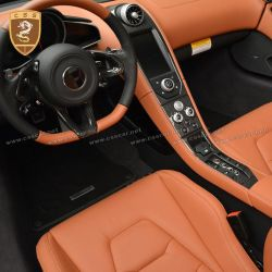 McLaren 650S-MP4 carbon fiber interior