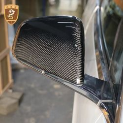 Tesla MODEL X add on style mirror cover