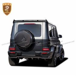 Benz G class W464 topcar carbon fiber spare tire cover