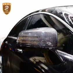 Benz C class W204 carbon fiber mirror cover