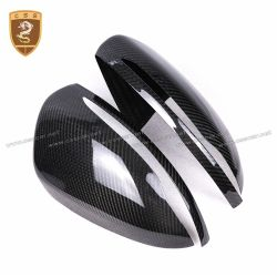 Benz C class W205 left or right-hand drive carbon fiber mirror cover