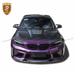 BMW M2 IP carbon fiber hood