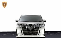 Toyota Alphard silk Blaze big body kits