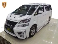 Toyota Alphard sixty wide body kits