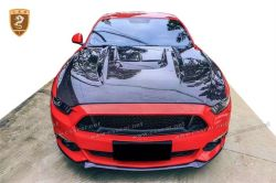2015-2016 Ford Mustang carbon fiber hood