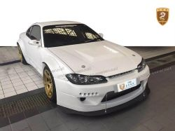 Nissan S15 ROCKET BUNNY FRP wide body kits