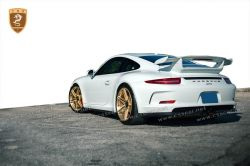 PORSCHE 991 GT3 carbon spoiler body kits