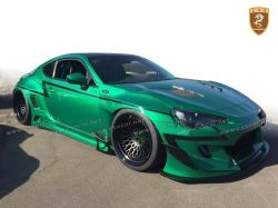 2016 Toyota GT 86 Rocket bunny V3 wide FRP body kits