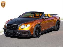 2016 Bentley Continental GTC mansory spoiler hood body kits