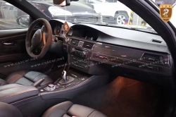 BMW E92 M3 carbon fiber interior